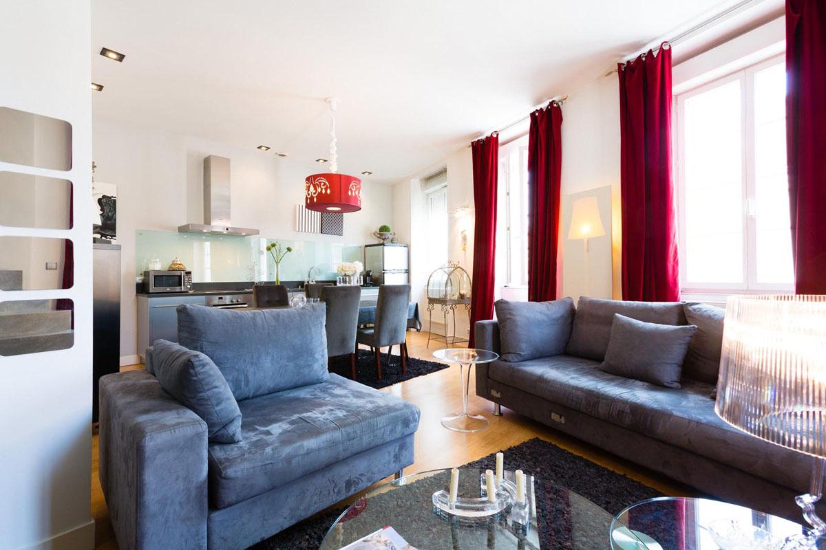 aménagement intérieur d'un appartement
