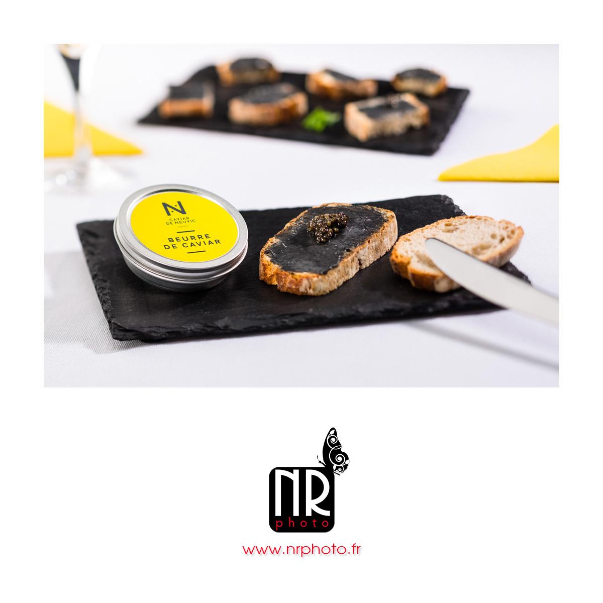 CAVIAR DE NEUVIC - Tartines de beurre de caviar