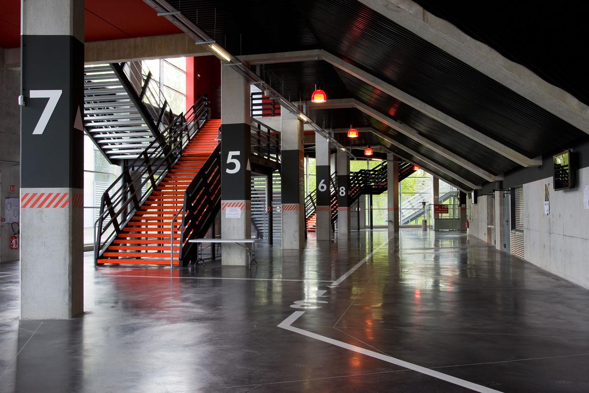Le Palio, Boulazac, intérieur, hall d'entrée