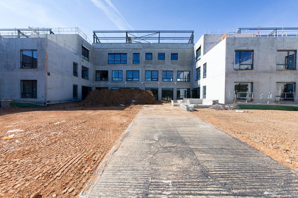 Maison de retraite de l'hôpital de Périgueux, entreprise Cari