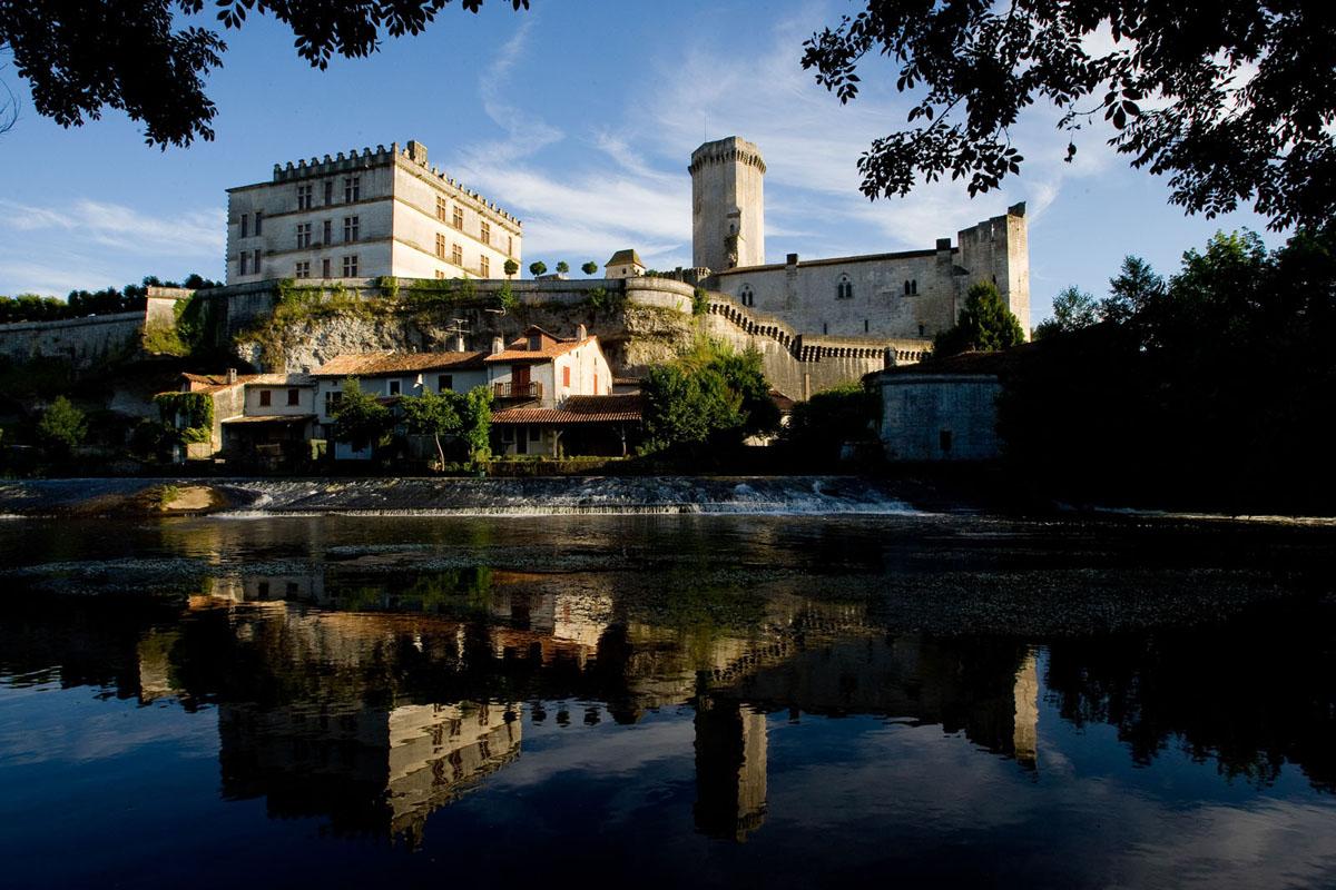 Photo château de Bourdeille sur la Dronne