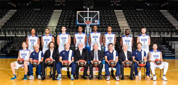 Equipe du Boulazac Basket Dordogne BBD 2014 2015