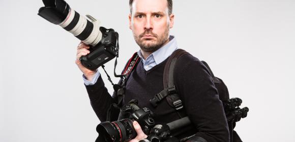 Nicolas Ravinaud, gérant du studio photographique NR PHOTO à Périgueux Dordogne depuis 10 ans