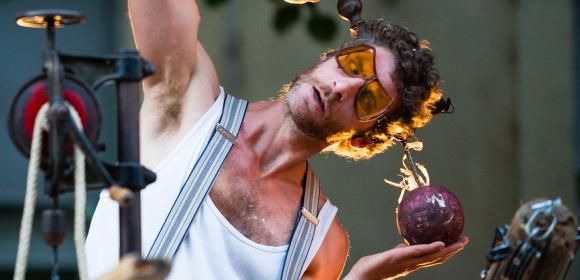 MIMOS 2014 - Les Poumons dans la sciure de la compagnie La Gueule de Bois