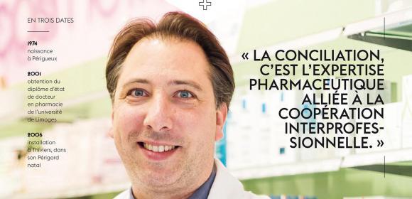portrait professionnel Jean Baptiste Chemille ordre des pharmaciens