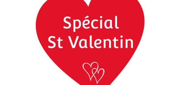 Offre spéciale St Valentin